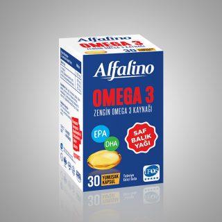 Alfalino Balık Yağı Kapsül