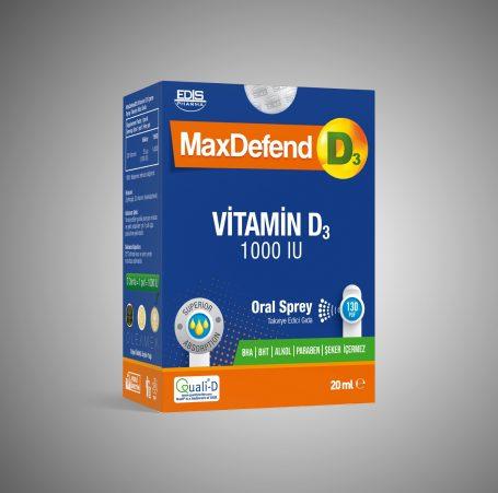 MaxDefend D3 1000 IU