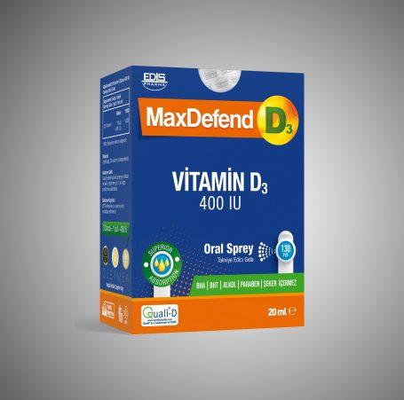 MaxDefend D3 400 IU